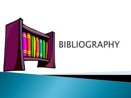 how to do a bibliography for a website