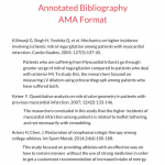 annotated bibliography ama format sample