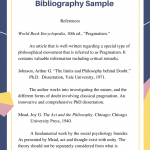 Annotated bibliography turabian chicago style
