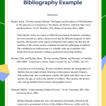 Great Chicago Style Annotated Bibliography Example