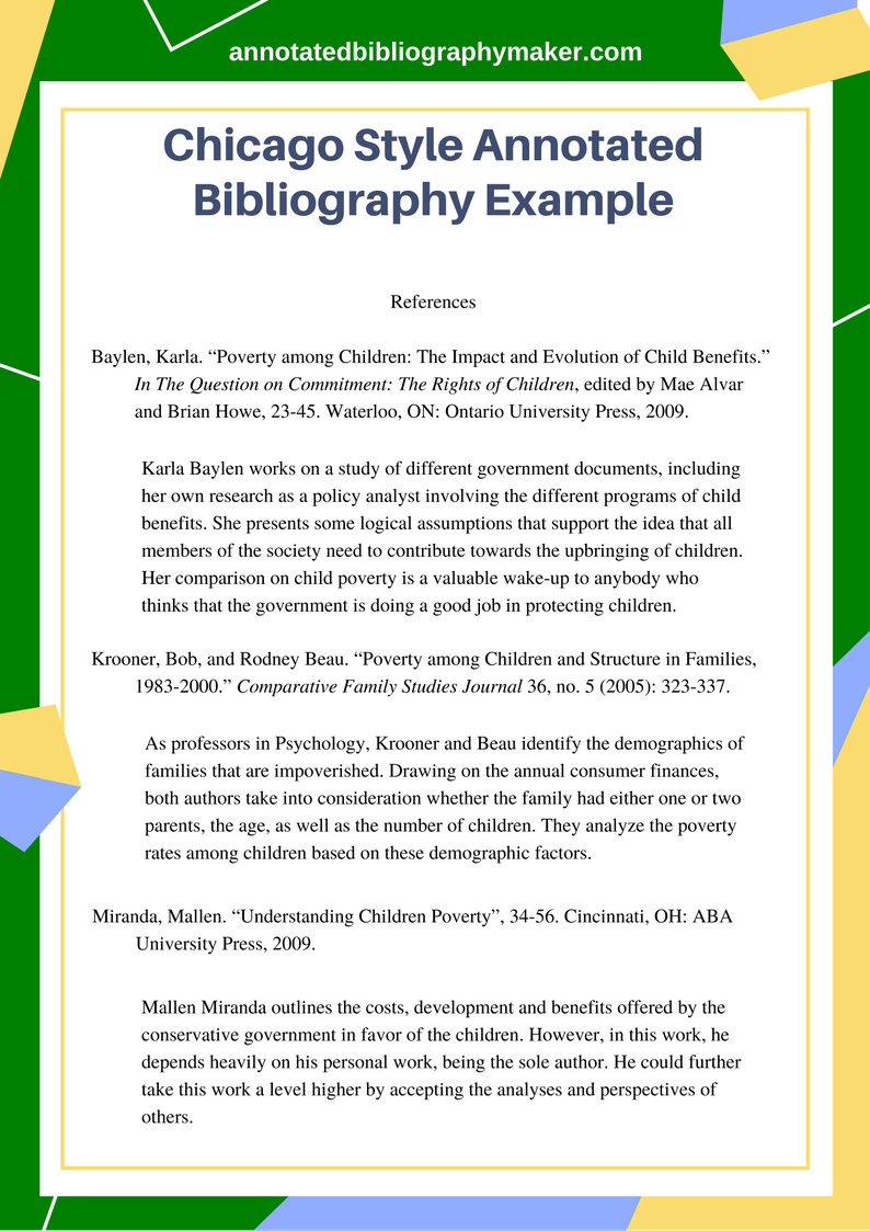 Review The Best Chicago Style Annotated Bibliography