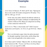 IEEE Annotated Bibliography Example