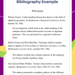 LATEX Annotated Bibliography Example