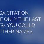 apsa citation style requirements