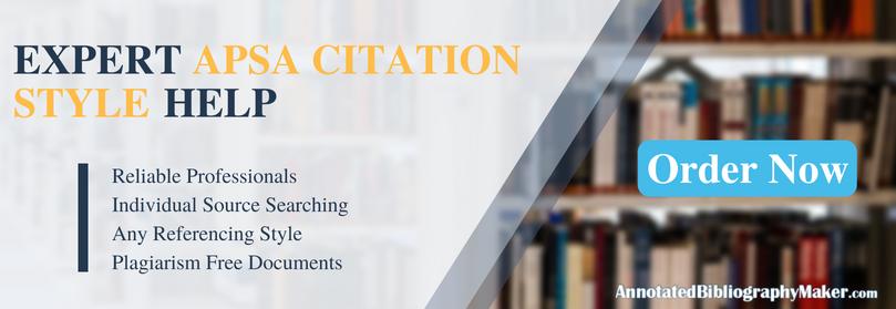 apsa citation style writing service