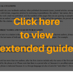textual citation guide