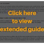 textual citation guide