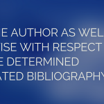 annotated bibliography psychology requirements