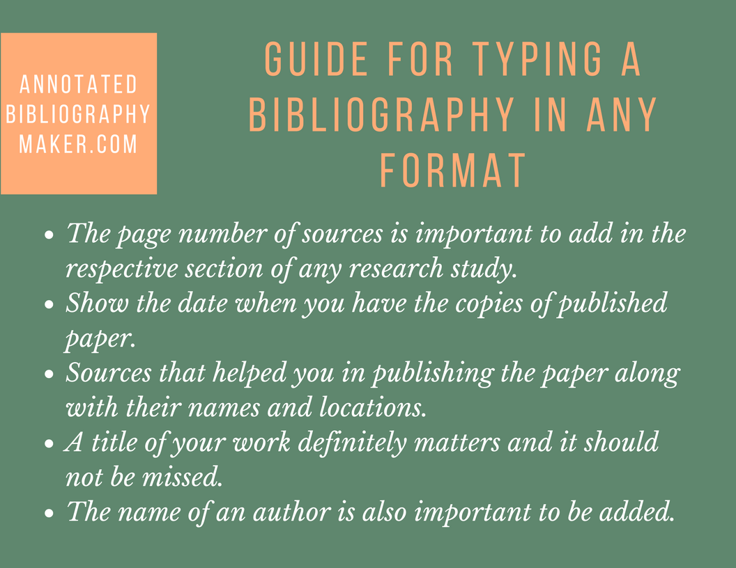 bibliographical information guide