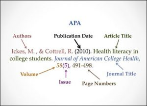 bibliography article sample