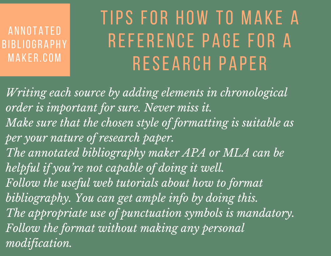 make reference page term paper Make sure your paper is double-spaced and that the before and after boxes both read 0 and reference page 3) term papers and essays with apa sixth edition.