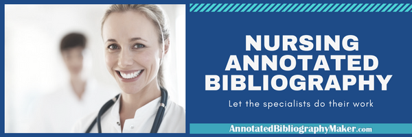 nursing annotated bibliography writing services