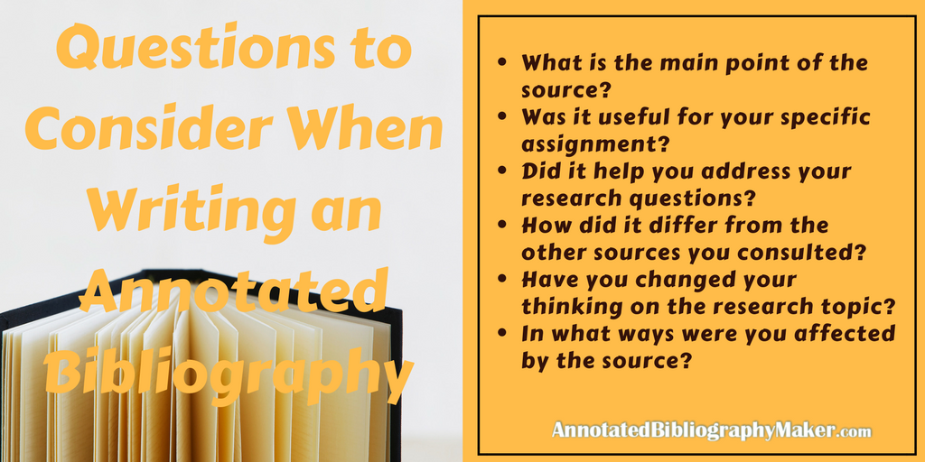 annotated bibliography australia questions to consider