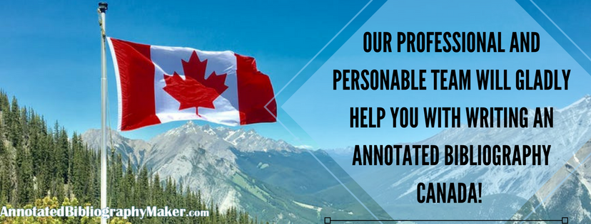 annotated bibliography canada professional team