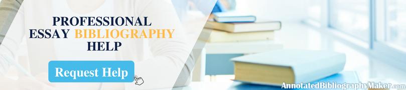 essay bibliography