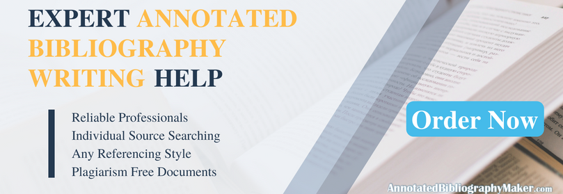 get sample annotated bibliography mla