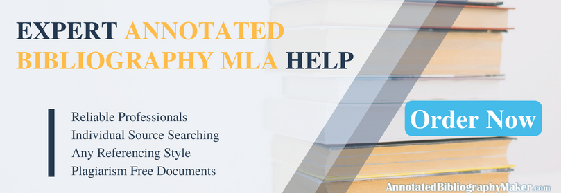 mla annotated bibliography experts