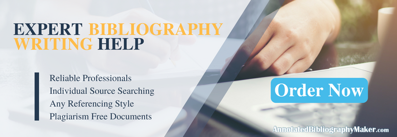 professional help writing annotated bibliographies