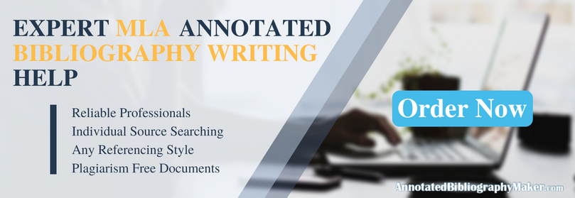 writing annotated bibliography example mla